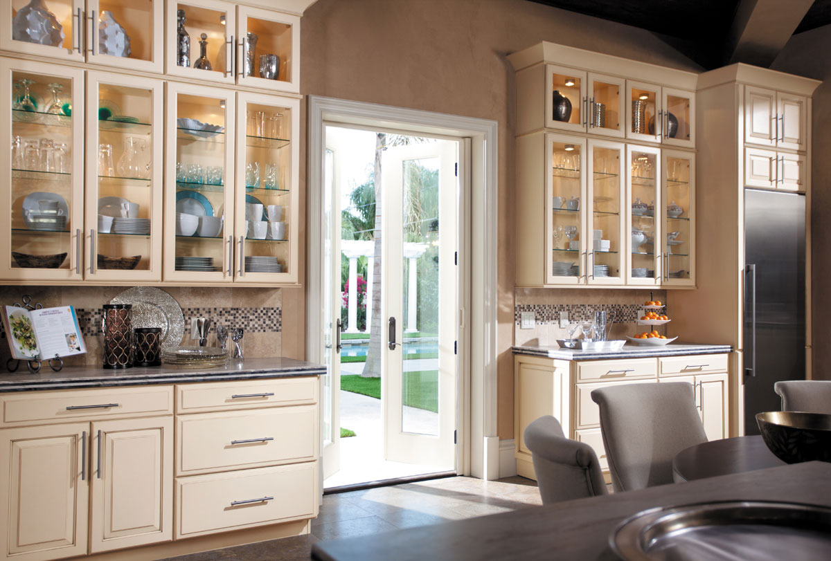 style in 610d painted hazelnut glaze kitchen accent - Maryland Kitchen Cabinets