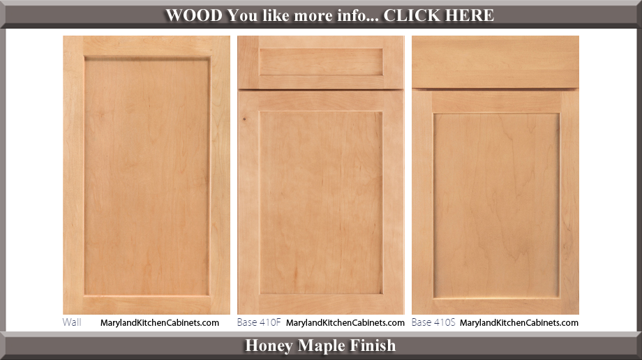 410 Honey Maple Finish Cabinet Door Style