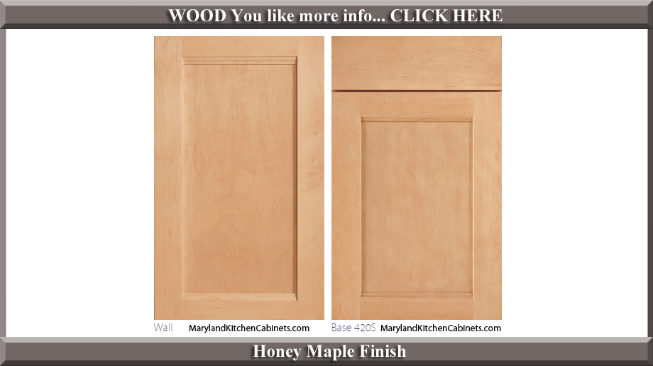 420 Honey Maple Finish Cabinet Door Style