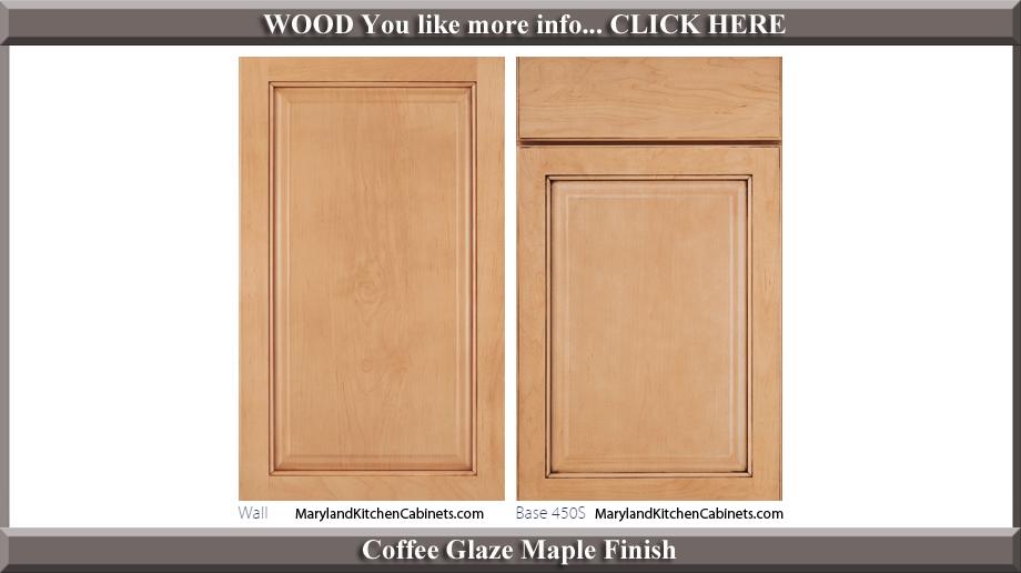 450 Coffee Glaze Maple Finish Cabinet Door Style