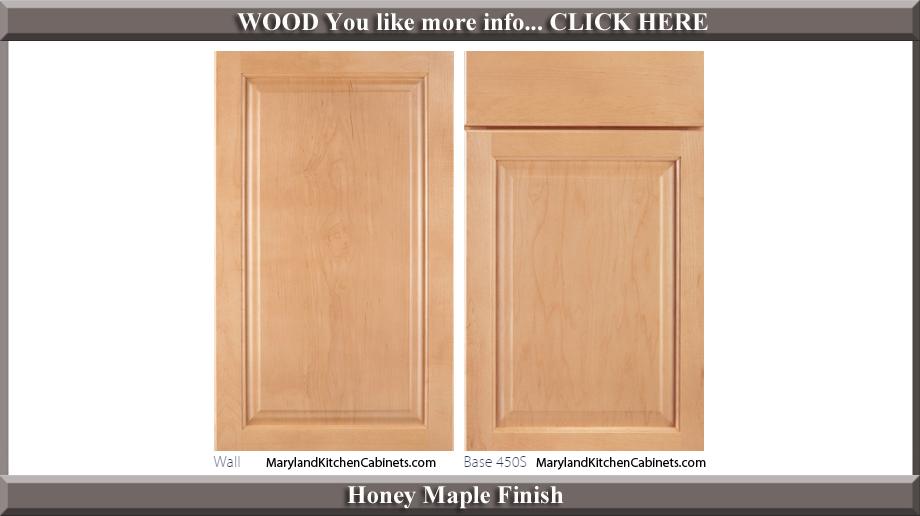 450 Honey Maple Finish Cabinet Door Style