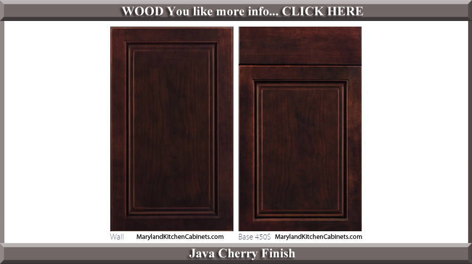 450 Java Cherry Finish Cabinet Door Style