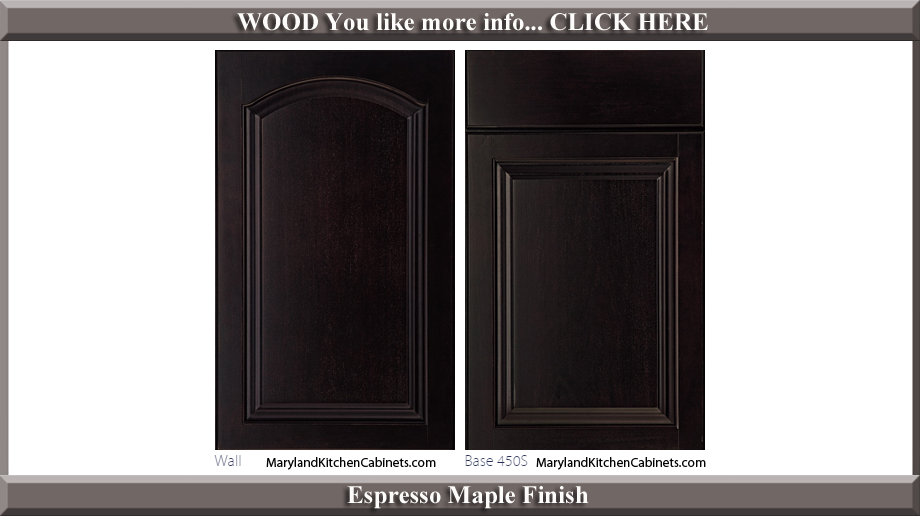451 Espresso Maple Finish Cabinet Door Style