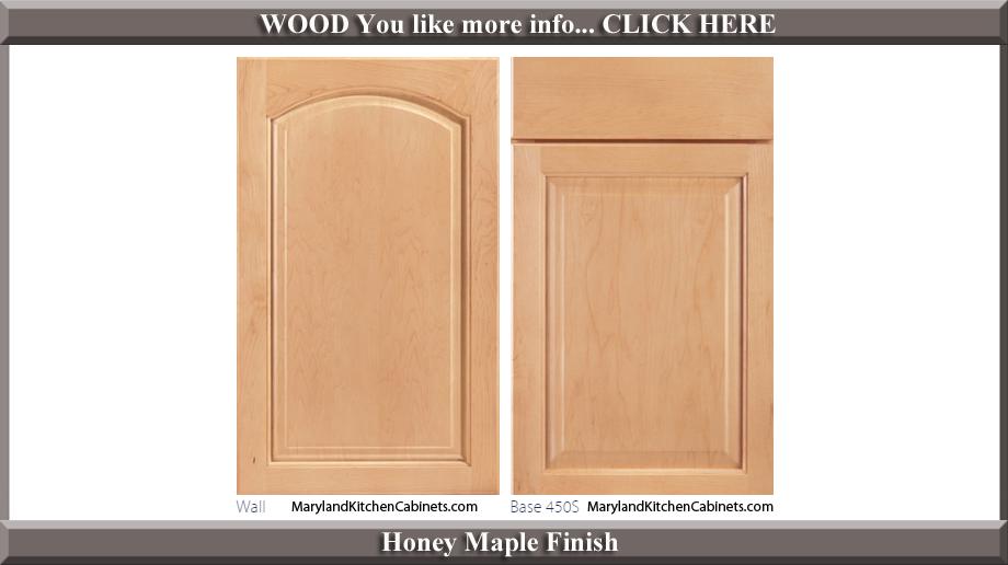 451 Honey Maple Finish Cabinet Door Style