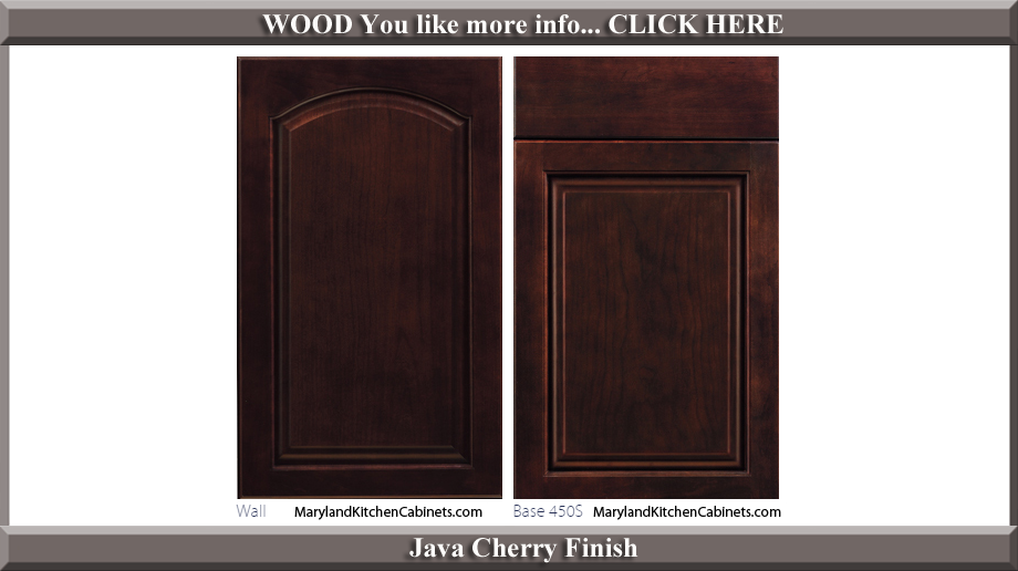 451 Java Cherry Finish Cabinet Door Style