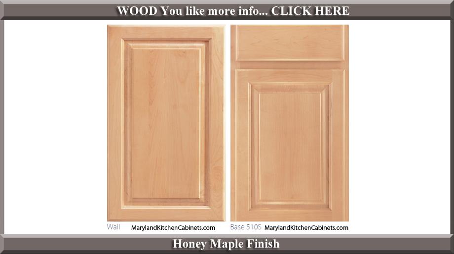 510 Honey Maple Finish Cabinet Door Style