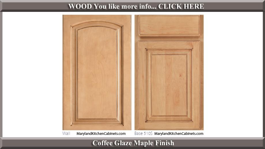 511 Coffee Glaze Maple Finish Cabinet Door Style