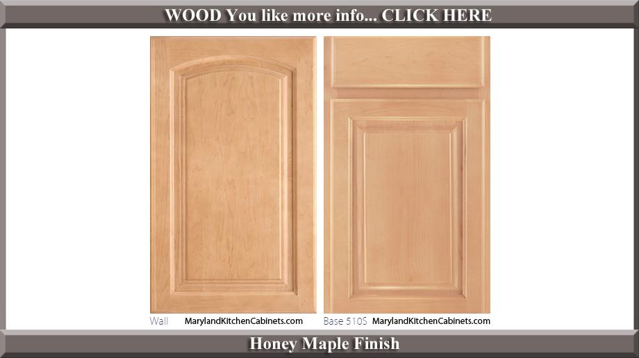 511 Honey Maple Finish Cabinet Door Style