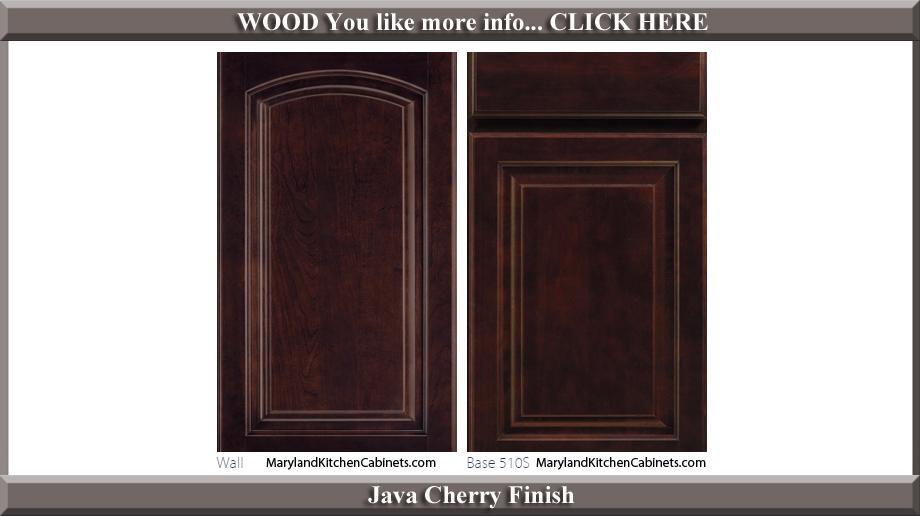 511 Java Cherry Finish Cabinet Door Style