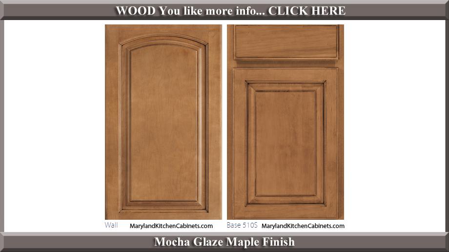 511 Mocha Glaze Maple Finish Cabinet Door Style