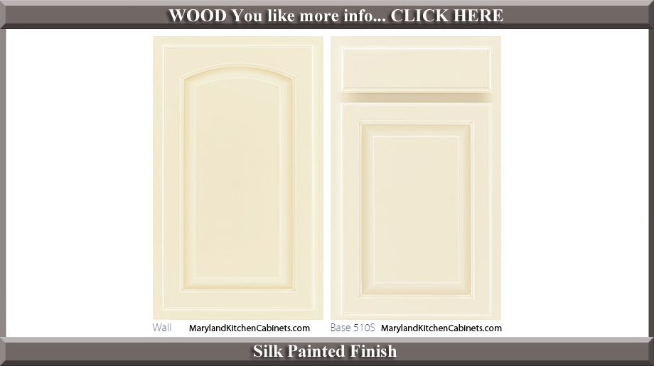 511 Silk Painted Finish Cabinet Door Style