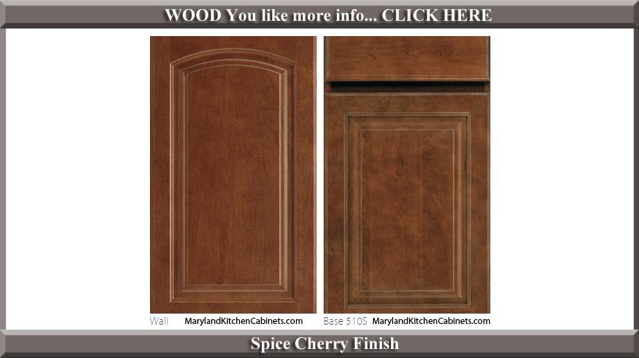 511 Spice Cherry Finish Cabinet Door Style