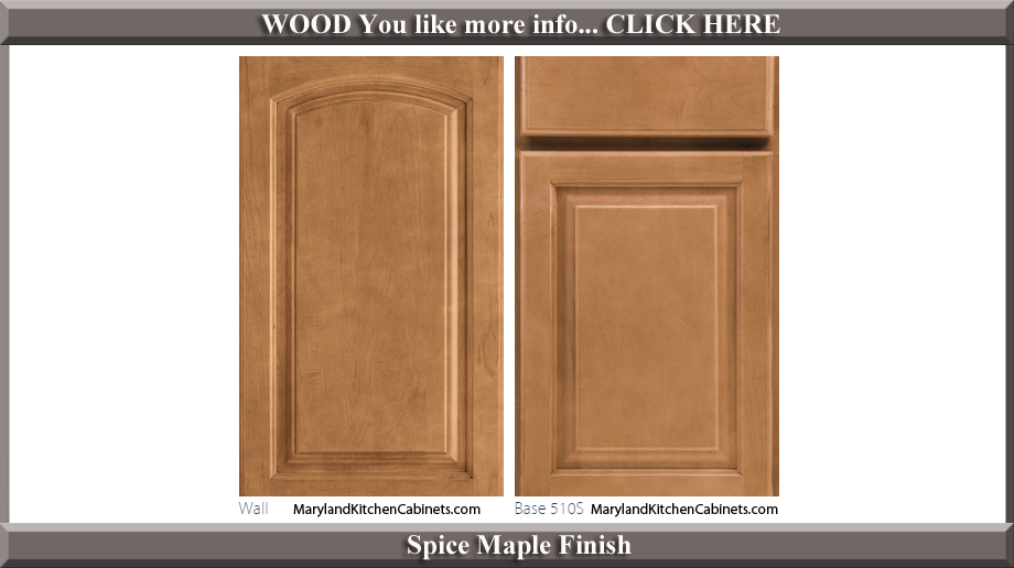 511 Spice Maple Finish Cabinet Door Style