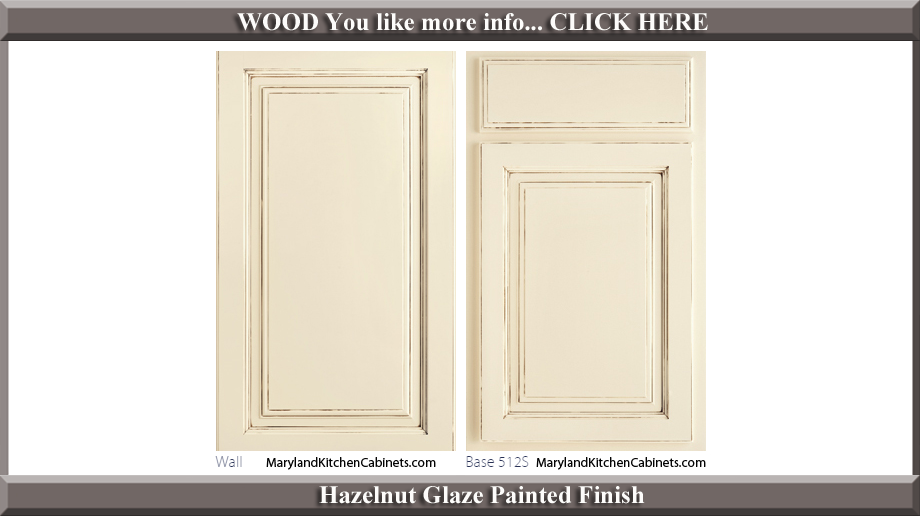512 Hazelnut Glaze Finish Cabinet Door Style