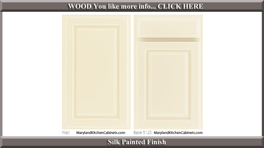 512 Silk Painted Finish Cabinet Door Style