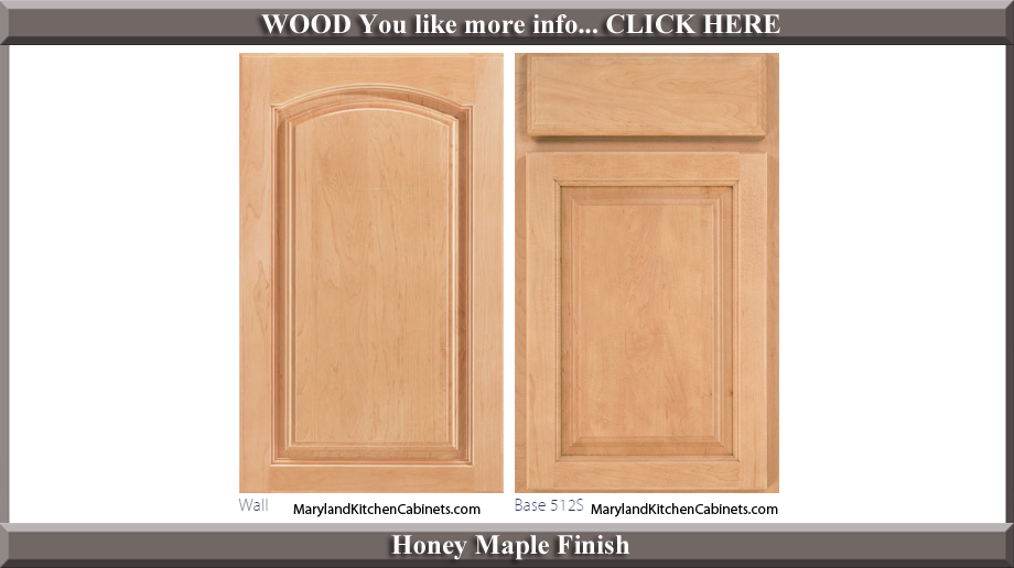 513 Honey Maple Finish Cabinet Door Style