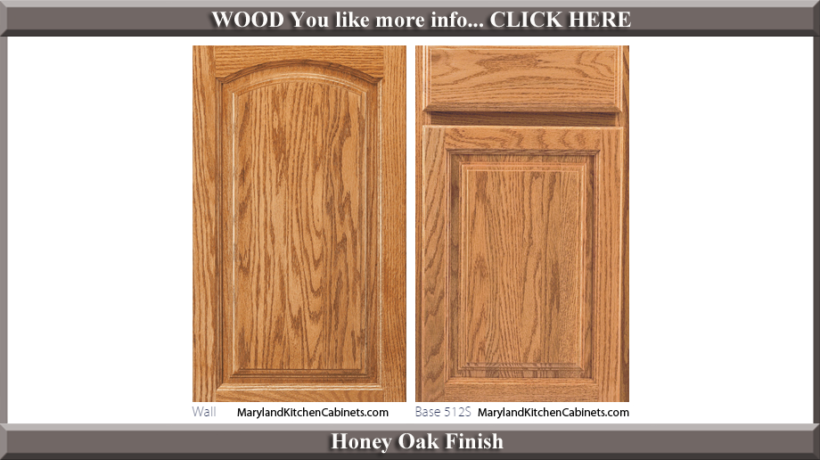 513 Honey Oak Finish Cabinet Door Style
