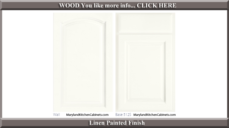 513 Linen Painted Finish Cabinet Door Style