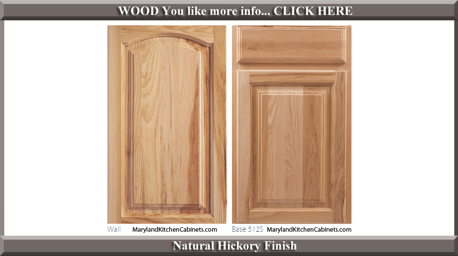 513 Hickory Cabinet Door Styles And Finishes