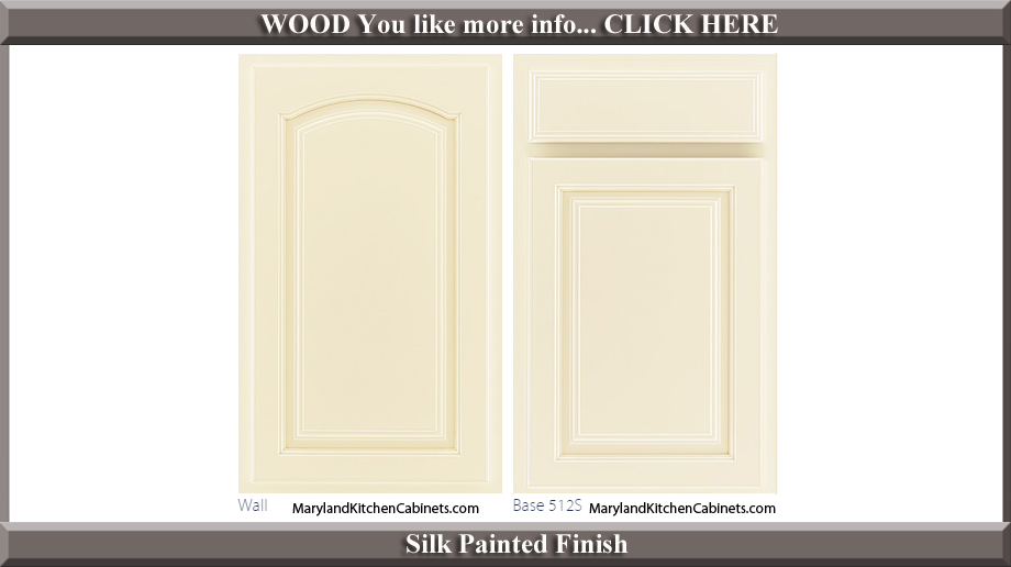 513 Silk Painted Finish Cabinet Door Style