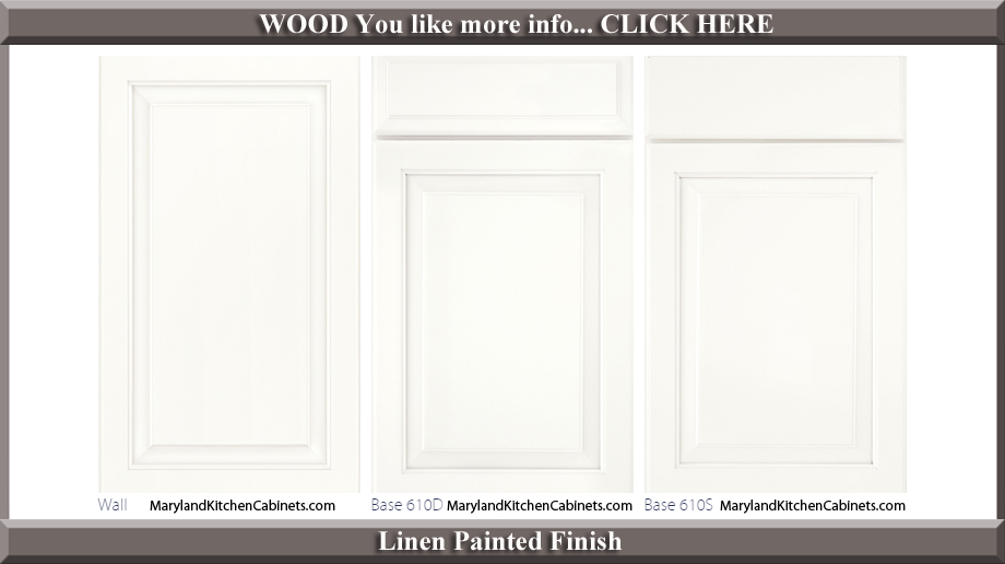 610 Linen Painted Finish Cabinet Door Style