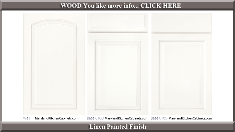 611 Linen Painted Finish Cabinet Door Style