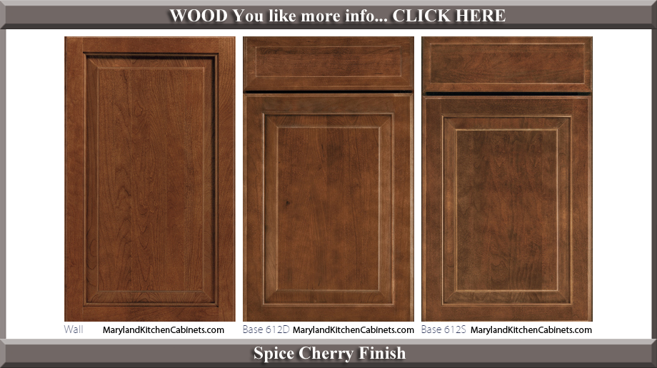 612 cherry cabinet door styles and finishes maryland kitchen 612 spice cherry finish cabinet door style eventshaper