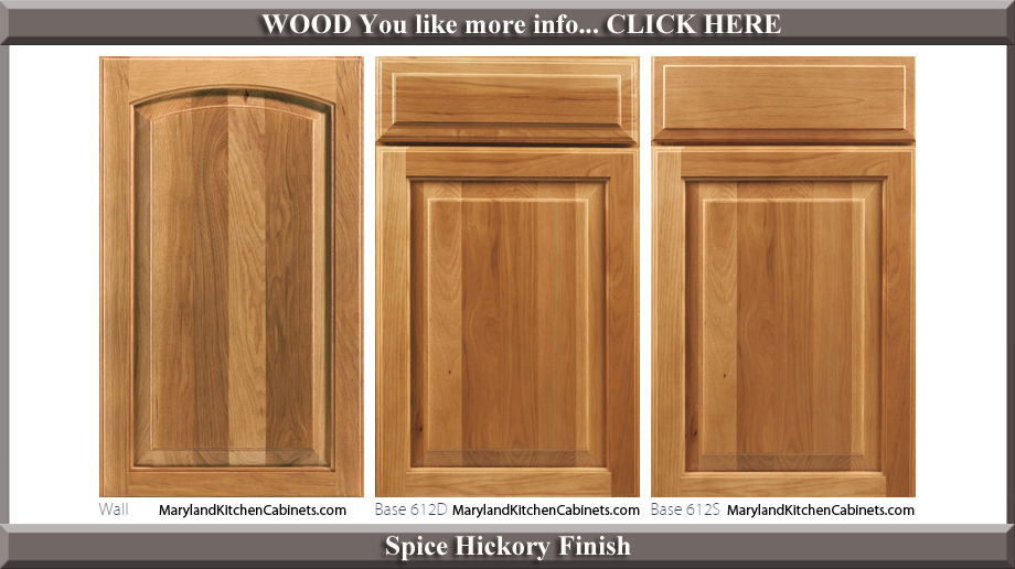 finished kitchen cabinet doors 613 hickory cabinet door styles and finishes 15424