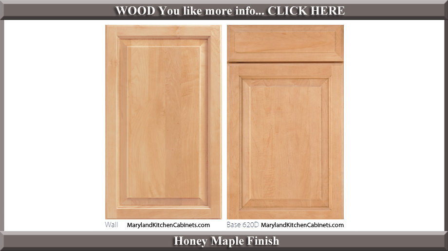 620 Honey Maple Finish Cabinet Door Style