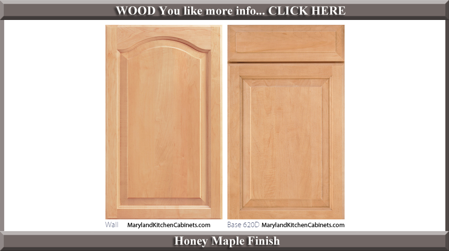 621 Honey Maple Finish Cabinet Door Style