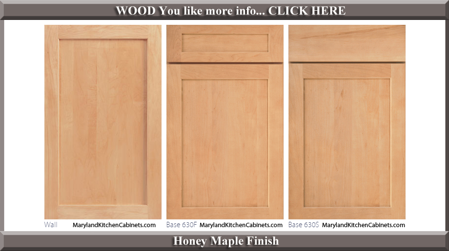 630 Honey Maple Finish Cabinet Door Style