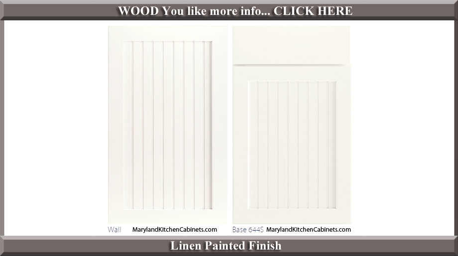 644 Linen Painted Finish Cabinet Door Style