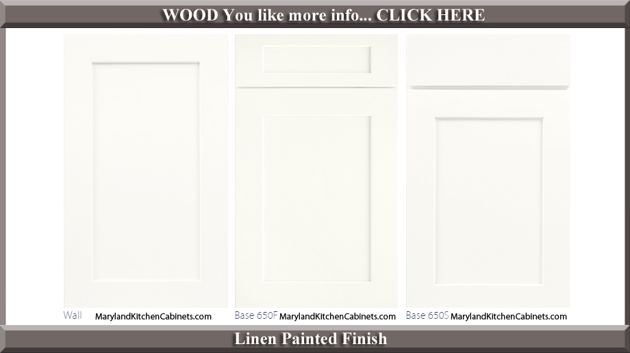 650 Linen Painted Finish Cabinet Door Style