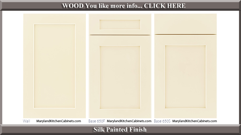 650 Silk Painted Finish Cabinet Door Style