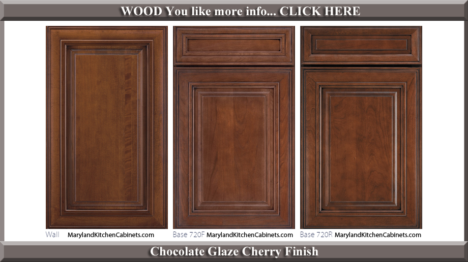 720 cherry cabinet door styles and finishes maryland for Kitchen cabinet finishes