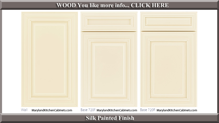 720 Silk Painted Finish Cabinet Door Style