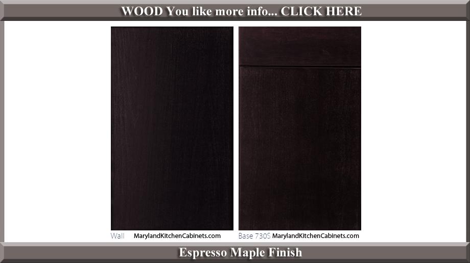 730 Espresso Maple Finish Cabinet Door Style