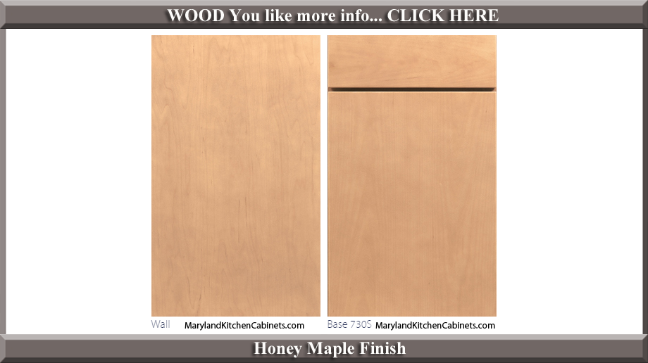 730 Honey Maple Finish Cabinet Door Style