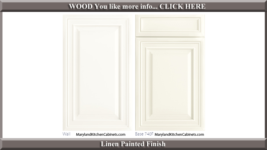 740 Linen Painted Finish Cabinet Door Style