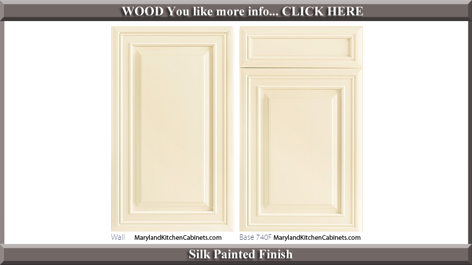 740 Silk Painted Finish Cabinet Door Style