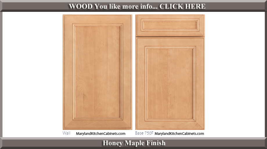 750 Honey Maple Finish Cabinet Door Style