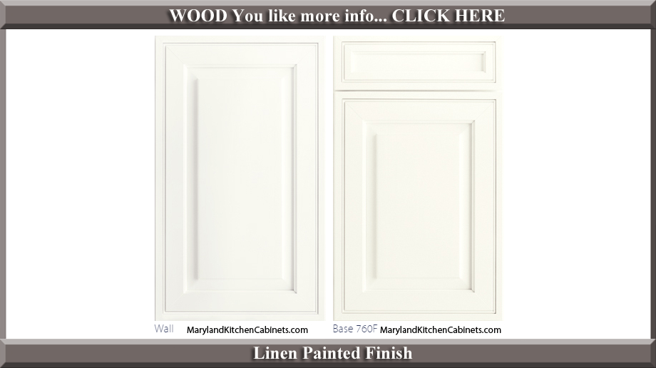760 Linen Painted Finish Cabinet Door Style