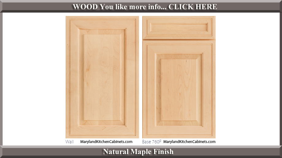 how to clean maple cabinets