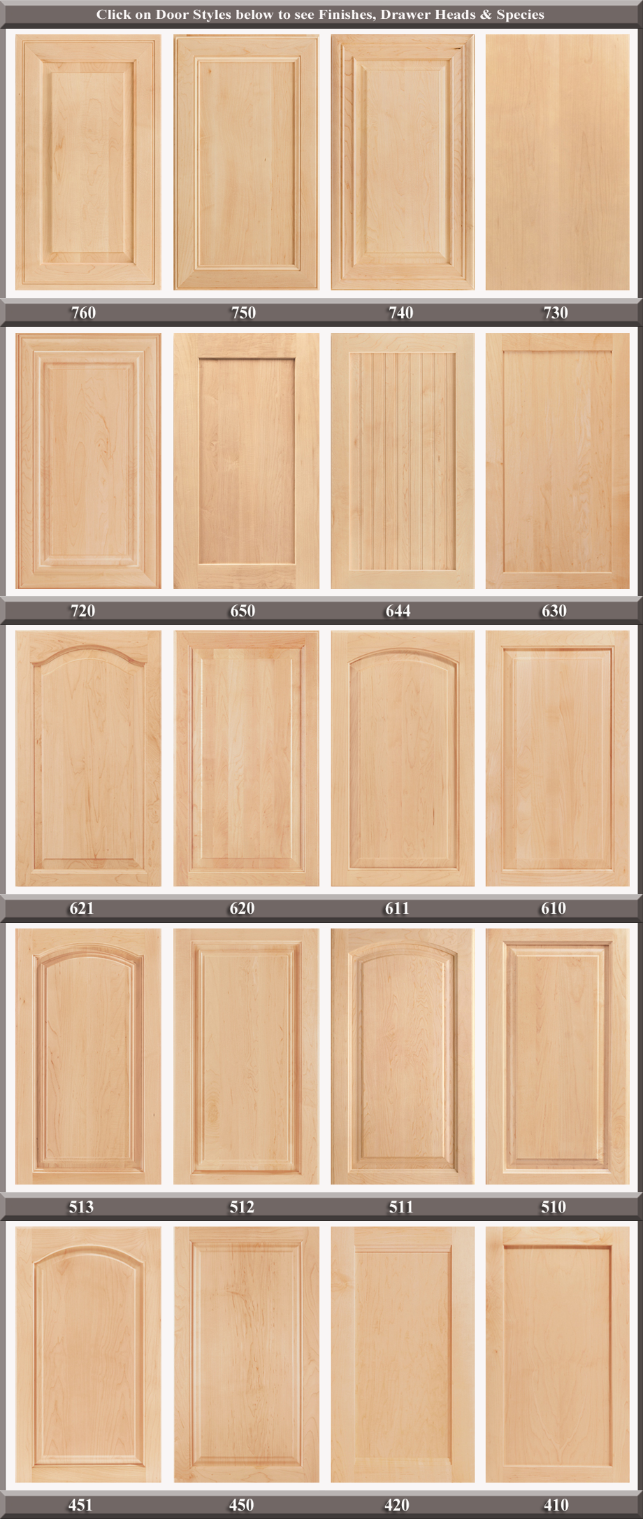 Popular cabinet door styles finishes maryland kitchen for Kitchen cabinet finishes