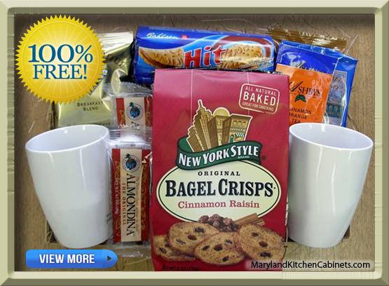 Free Gift Basket Maryland Kitchen Cabinets