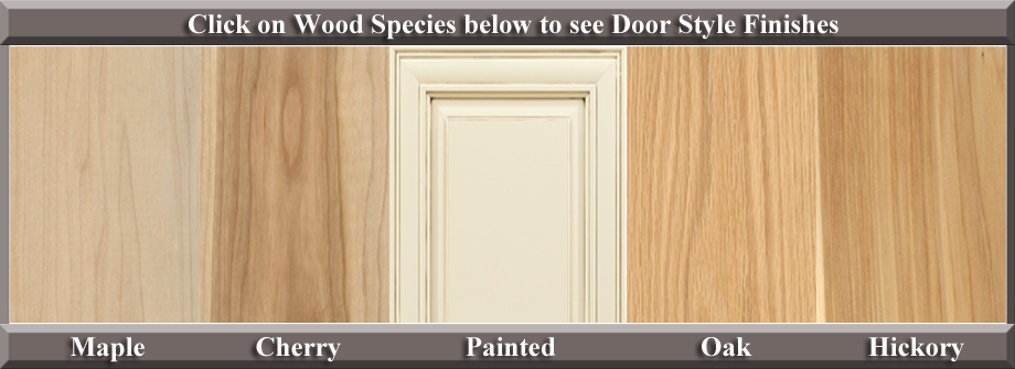 730 cabinet door styles and finishes maryland kitchen for Kitchen cabinet wood types